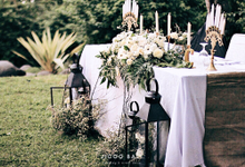 White Simple Wedding  by jicoo bali