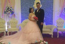 The Wedding Of Adrian & Novi by Divine Bridal