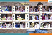 Jirry & Bella Virtual Online Wedding Live Streaming Holy Matrimony by Truevindo