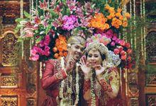 JIWO & ERIA by Adhyakti Wedding Planner & Organizer