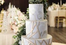 The Wedding of Winston & Inez by KAIA Cakes & Co.