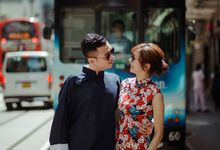 Jimmy & Nicole - Oriental Engagement Portraits by Chester Kher Creations