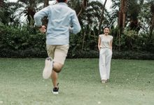Prewedding of Steven & Betsy at Ayana Midplaza by Warna Project