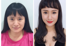 Personal makeover by Jocelyn Tan Airbrush Makeup&hairdo