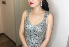 ZiWei Wong by Jocelyn Tan Airbrush Makeup&hairdo
