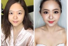 Nicole  by Jocelyn Tan Airbrush Makeup&hairdo