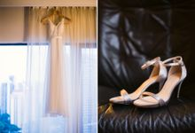 Wedding Day of Jody and Derrick at Mandarin Orchard Singapore (Actual Day Photography) by oolphoto