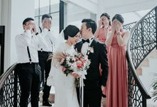 The Wedding of  Andri & Ivana by Memoira Studio