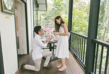 Proposal at Corner House by Awesome Memories Photography