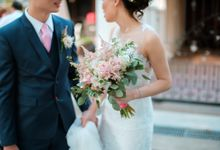 Sophisticated Rustic Foliage by A Quaint Revelry