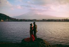 Mesmerizing Japan Prewedding in Tokyo, Mt Fuji and Kyoto by fire, wood & earth