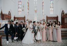 Johnathan & Patrina - Church of Saints Peter and Paul by Pixioo Photography
