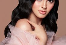 Miss International Indonesia 2019 by Stella Tjia Makeup Artist and Hairstylist