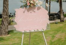 Christian & Syeni Wedding by Cloris Decoration & Planner