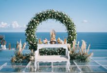 Hary & Mellisa wedding at The Surga Estate by Cloris Decoration & Planner