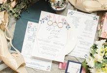 A Sunny Blush Wedding by Love And Other Theories