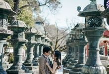 Jerry & Gaby Winter at Japan by ANTHEIA PHOTOGRAPHY