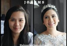 Jorems Hair & Makeup Artistry - Before and After by Jorems Hair and Makeup Artistry