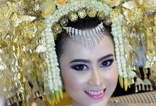 Wedding sabar & Gladys  by Josi David Professional & Wedding Make up Artist