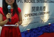 Opening Ceremony PT Nickel International by MC Mandarin Linda Lin