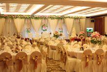 Weddding day of Indra & Aurelia at Angke Restaurant Kelapa Gading by Angke Restaurant & Ballroom Jakarta