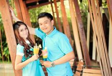 Adell+Taufiq Couple Photoshoot by antareksa photography