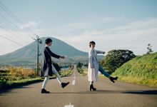 Japan Engagement shoot by Amelia Soo photography