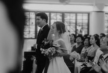 Church wedding in Singapore by Amelia Soo photography