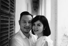 Black & White post wedding by Amelia Soo photography