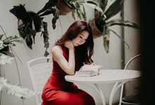 That little red dress by Amelia Soo photography