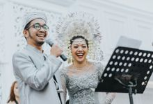 Raisa & Jalu's Wedding by  Menara Mandiri by IKK Wedding (ex. Plaza Bapindo)