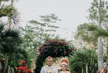 Vicky and Dhian Wedding Reception by Taman Prakerti Bhuana
