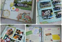 Scrapbook album by Cin's Scrapworks