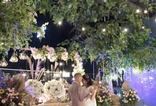 Nadya & darian wedding reception by Our Wedding & Event Organizer
