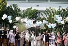 Alisa & Dodi New Normal Wedding by Our Wedding & Event Organizer