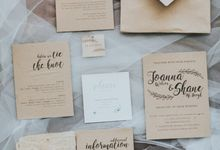 Rustic & Modern wedding decoration for Shaun & Joanna at OMG Villa by Silverdust Decoration