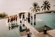 Jessica & Sandro wedding at Conrad Koh Samui by BLISS Events & Weddings Thailand