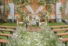 The Wedding of Dila & Imam di Villa Vii by Decor Everywhere