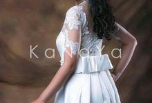 """WHITE GOWN """"BELLE"""" by KANAYA Kebaya & Bridal"""