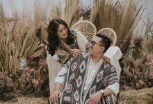 The Prewedding of Andari & Fath at Wildflower Studio by Warna Project