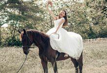 Bridal with Horse by Vera Morgana