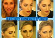 Beyond BEAUTY by D' Lady behind the Scene Make Up Artistry