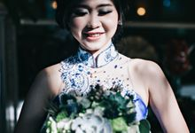 The Engagement of Natasha & Luther by Voilawish Party Designer