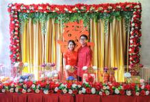 Sangjit Day Haryanto & Meilisia by JY Sangjit Box.id