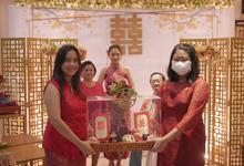 Sangjit ceremony Yanega & Sinta by JY Sangjit Box.id