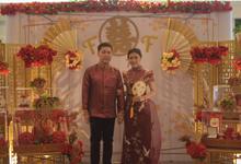 Sangjit  ceremony Felix & Fiory by JY Sangjit Box.id