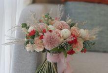 The Wedding of Agus & Meryana by Blooming Faith