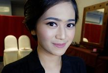Glowing Makeup For Bridesmaids by MakeupbyDeviafebriani
