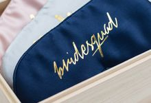 Personalised bridesmaid gifts by Pupabox