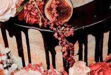 Garden Rustic Cake by KAIA Cakes & Co.